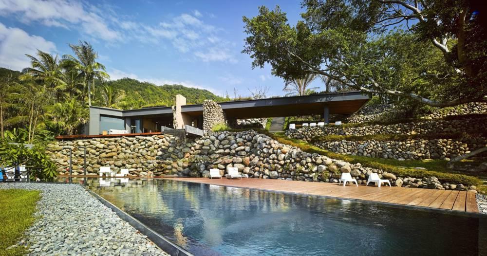 在海邊的頂級Villa 台灣.落水山莊 「阿都蘭A'tolan House」拿下「最佳建築獎」的台灣超級作品